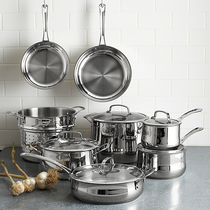 Cuisinart Stainless Steel 13 Piece Cookware Set
