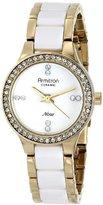 Swarovski Armitron Women's 75/5210WTGPWT Crystal-Accented Watch