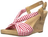 Aerosoles Women's Plush Pillow Wedge Sandal