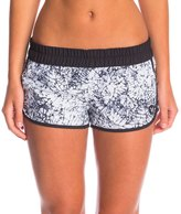 "Hurley Women's Supersuede Printed 2.5"" Beachrider Boardshort 8147460"
