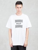 HUF Checkerboard Box Logo S/S T-Shirt