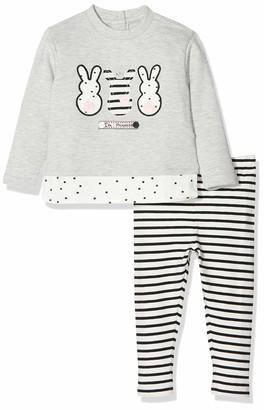 Chicco Baby Girls' Completo Sweatshirt Con Leggings Clothing Set