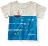 Tea Collection Fishing Boat Graphic T-Shirt (Baby Boys)