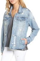 Rails Women's Loretta Daisy Applique Denim Jacket