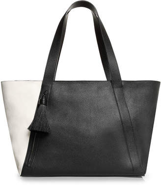 Akris Alexa Medium Leather Zip Tote Bag