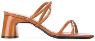 Dorateymur Block-Heel Sandals