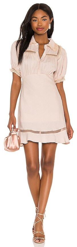 Free People Warm Glow Mini Dress