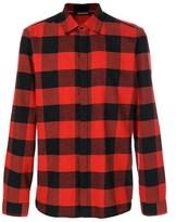 Neil Barrett Men's Red Cotton Shirt.