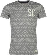 Soulcal Aztec T Shirt Mens