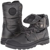 Palladium Women's Pallabrouse BGY EXN Lace Up Mid Casual Boot Grey