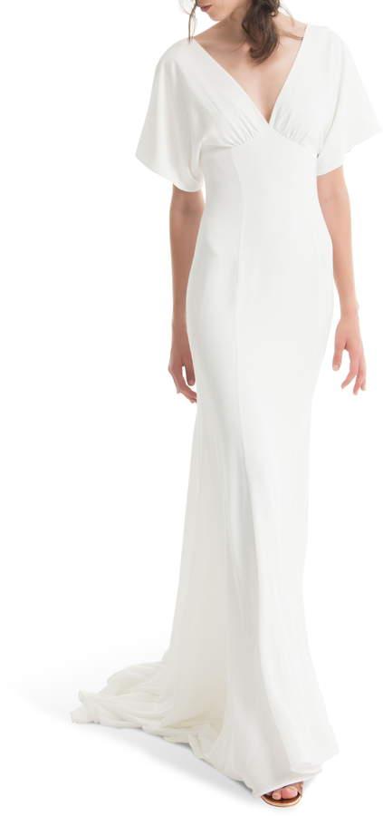 e85a593a02f43 White Empire Waist Dresses - ShopStyle
