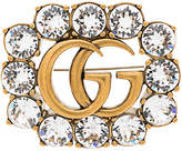 Gucci GG Marmont Crystal Brooch