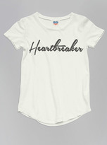 Junk Food Clothing Toddler Girls Heartbreaker Tee-sugar-2t