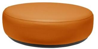 Sonik Circle Kids Soft Seating Marco Group Inc. Ottoman Upholstery Colo: Papaya
