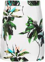 Proenza Schouler floral mini skirt