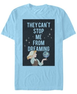 Disney Men's Cinderella Can't Stop Dreaming, Short Sleeve T-Shirt