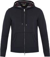 Burberry Claredon hooded cotton-blend sweatshirt