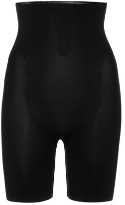 Wolford Contour Control stretch-cotton biker shorts