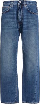 Totême Original Rigid Mid-Rise Straight-Leg Jeans