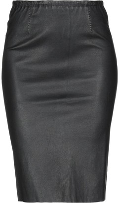 Lamberto Losani Knee length skirts