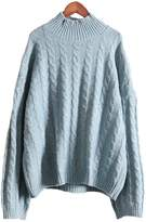 'Stella' Cable-knit Sweater