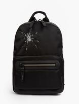 Lanvin Black Tarantula Motif Backpack