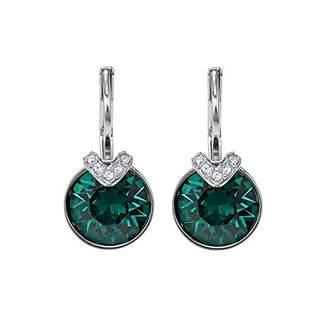 Swarovski Women Crystal Dangle & Drop Earrings 5498876, green