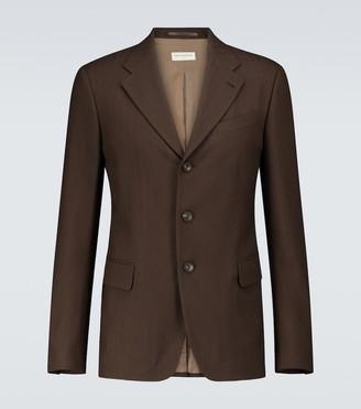 Dries Van Noten Single-breasted wool blazer