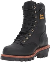 "Chippewa Men's 9"" Waterproof Insulated Steel-Toe EH Logger Boot"