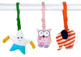 Under the Nile Set of 3 Organic Scrappy Stroller Toys