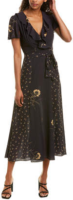 French Connection Mahi Belted Maxi Dress