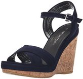 Stuart Weitzman Women's Minky Wedge Sandal