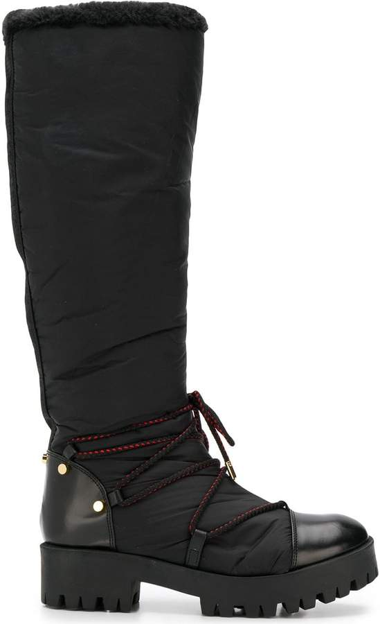 f4ea8a4a ridged sole boots