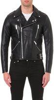 Sandro Fan Leather Jacket