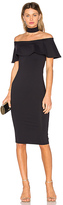 Donna Mizani Mila Midi Dress in Black. - size XS (also in )