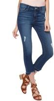 Sanctuary Women's Robbie Release Hem Ripped Crop Jeans