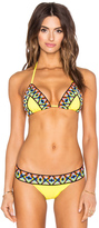 Sauvage Tribal Triangle Top