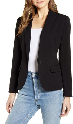 Vince Camuto Nina Classic Notched Collar Blazer