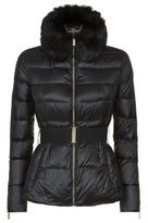 Ted Baker Junnie Faux Fur Collar Coat