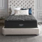 """Simmons Black C-Class 16"""" Plush Pillow Top Mattress Mattress Size: Queen"""
