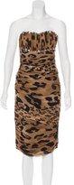Blumarine Embellished Silk Dress w/ Tags