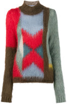 Chloé colour blocked knitted jumper