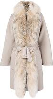 Guy Laroche oversized coat - women - Silk/Cashmere/Wool - 42