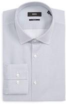 BOSS Men's Slim Fit Dot Dress Shirt