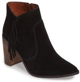 Lucky Brand Women's Mercerr Pointy Toe Fringe Bootie