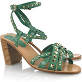 Vanessa Bruno Studded leather sandals