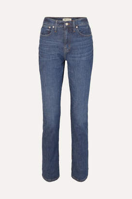 Madewell The High-rise Slim Boyjean Jeans - Mid denim