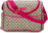 Gucci GG rose bud diaper bag