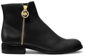 MICHAEL Michael Kors Lainey Leather Flat Booties
