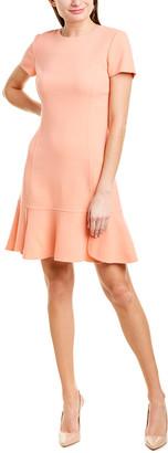 Oscar de la Renta Wool-Blend Shift Dress
